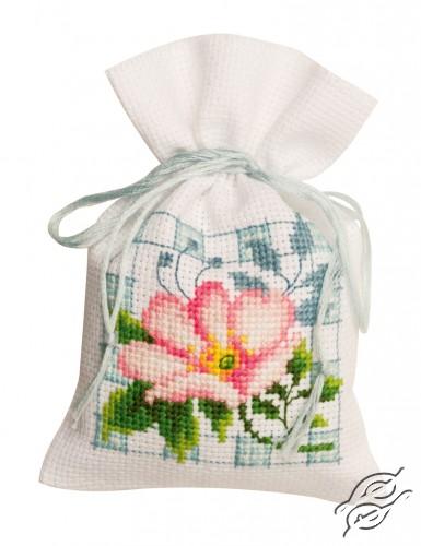 Pink Flowers II by Vervaco - PN-0146544