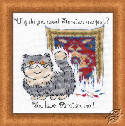 Persian Carpet by RIOLIS - 1273