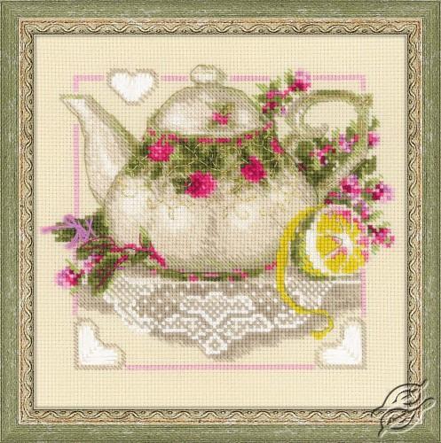Tea With Lemon by RIOLIS - 1477