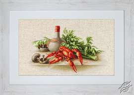 Still Life with Crayfish by Luca-S - BL2258