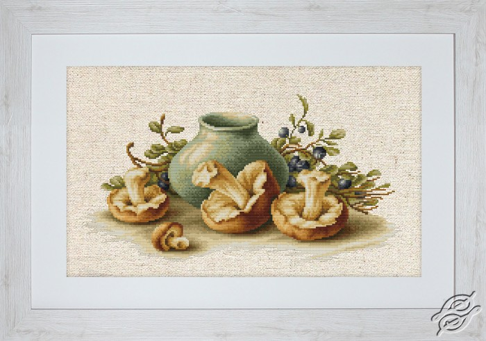 Still Life With Mushrooms by Luca-S - BL2247