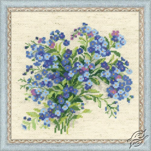Forget Me Nots by RIOLIS - 1496