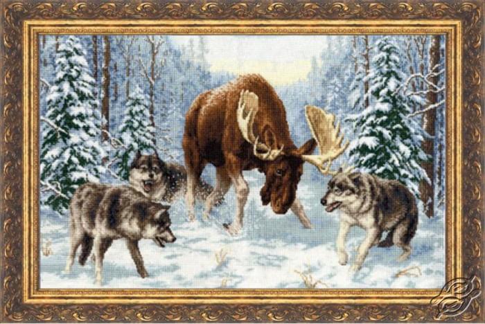 Meeting In A Forest by Golden Fleece - DZH-013