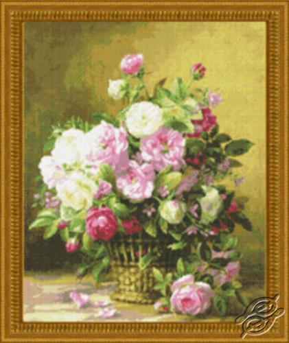 Rose Basket by Kustom Krafts - 97403