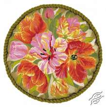 Tulips Cushion by RIOLIS - 1500