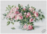 Bouquet of Pink Roses by Luca-S - B2286