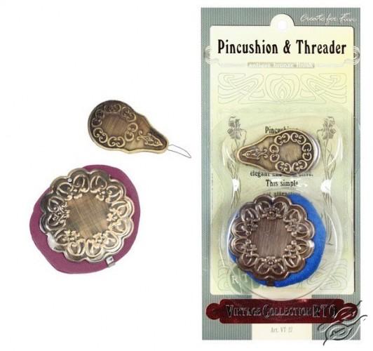 Pincushion & Threader by RTO - VT-27