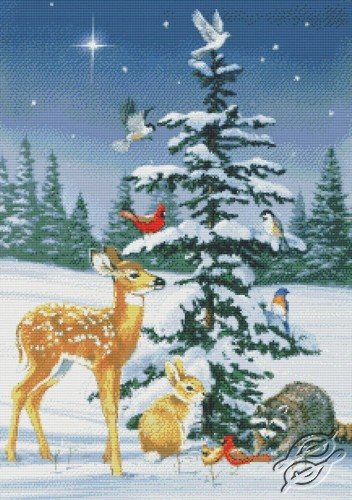 Christmas Tree Gathering by Kustom Krafts - 97283