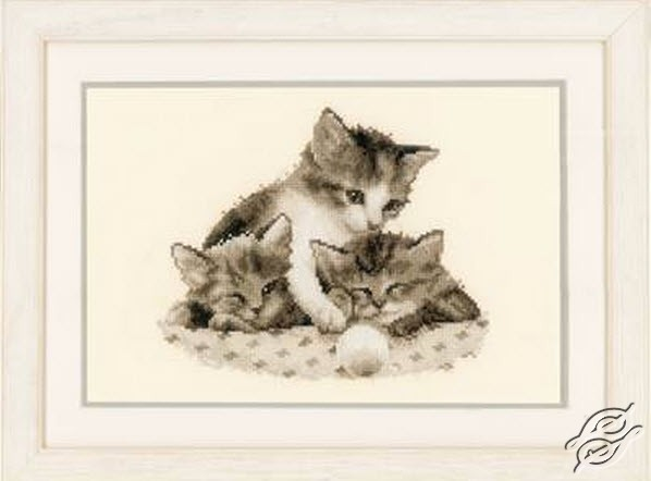 Three Little Kittens by Vervaco - PN-0148985