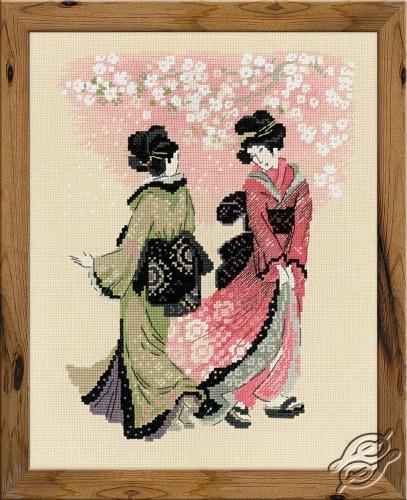 Cherry Blossom by RIOLIS - 1508