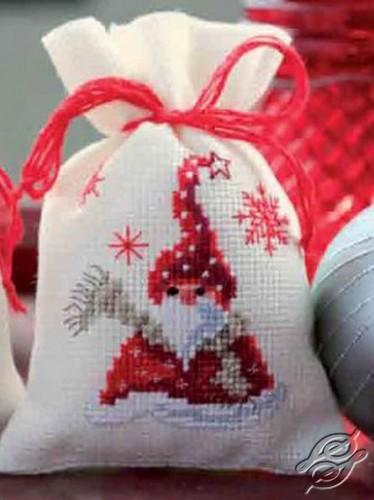 Santa with a Scarf by Vervaco - PN-0144319
