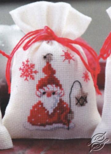 Santa with a Lantern by Vervaco - PN-0144300