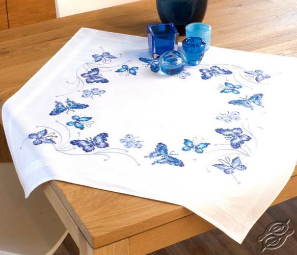 Blue Batterflies by Vervaco - PN-0145088