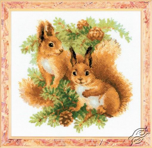Squirrels by RIOLIS - 1491