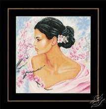 Lady With Blossoms by Lanarte - PN-0155690