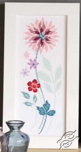 Modern Flowers III by Vervaco - PN-0154587