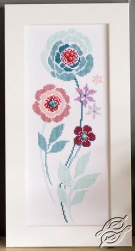 Modern Flowers IV by Vervaco - PN-0154588