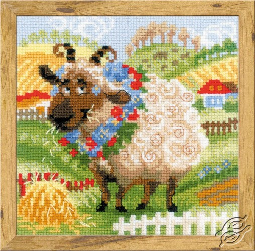 The Farm. Lamb by RIOLIS - 1521