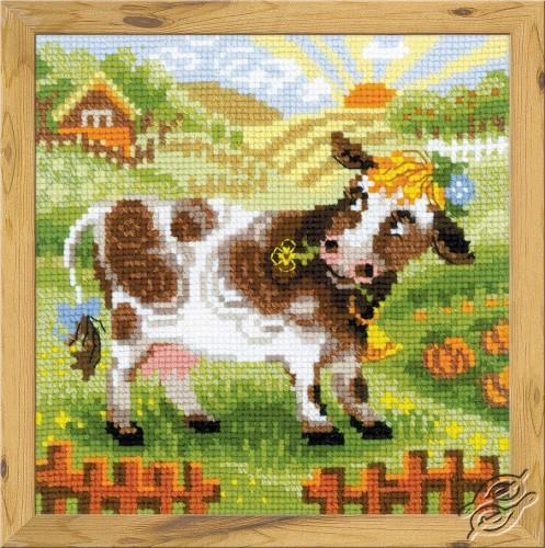The Farm. Little Cow by RIOLIS - 1522