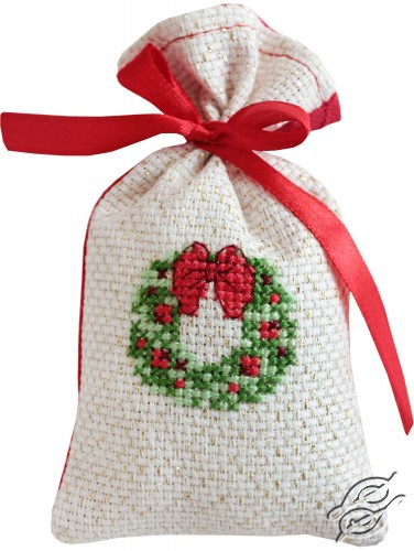 Wreath Bag by Luca-S - PM1204