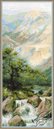 Mountain River II by RIOLIS - 1543