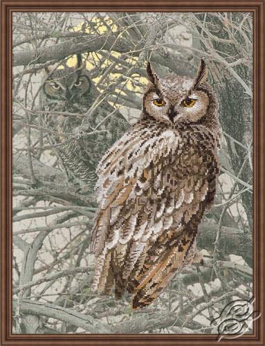 Eagle Owl by RIOLIS - 0038-PT