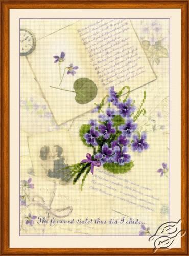 Love Letters. Violet by RIOLIS - 0039-PT
