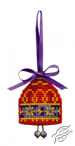 Christmas Tree Decoration Bell by RIOLIS - 1540AC