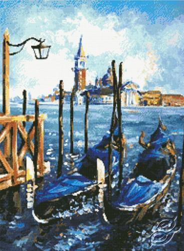 Gondolas in Venice by Kustom Krafts - 20263