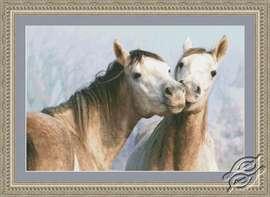 Horse Kisses by Kustom Krafts - 97483