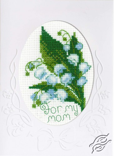 Card For My Mother by RIOLIS - 1514AC