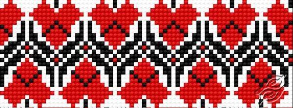 Ukrainian Embroidery Ornament 137 by HaftiX - patterns - 00137