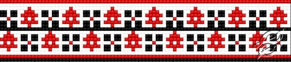 Ukrainian Embroidery Ornament 141 by HaftiX - patterns - 00141