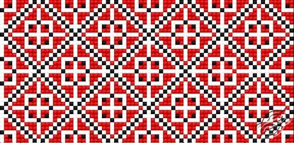 Ukrainian Embroidery Ornament 143 by HaftiX - patterns - 00143