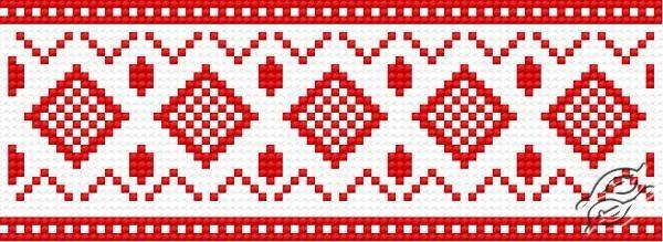 Ukrainian Embroidery Ornament 147 by HaftiX - patterns - 00147