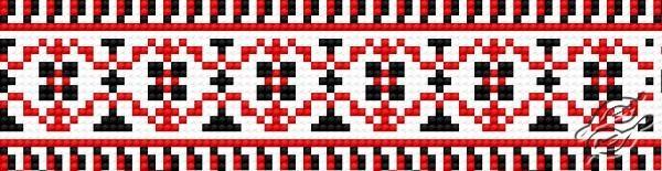 Ukrainian Embroidery Ornament 150 by HaftiX - patterns - 00150