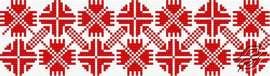 Ukrainian Embroidery Ornament 151 by HaftiX - patterns - 00151