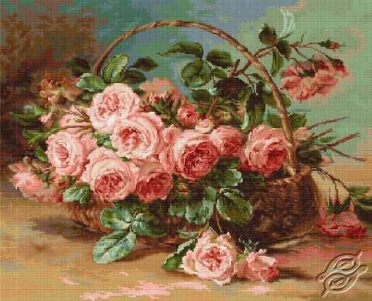 Basket Of Roses by Luca-S - B547