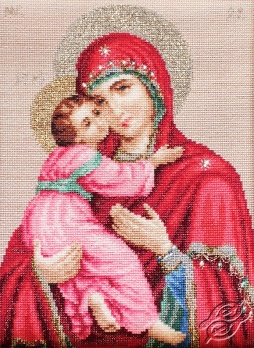 Icon Of Our Lady of Vladimir by Luca-S - BR112