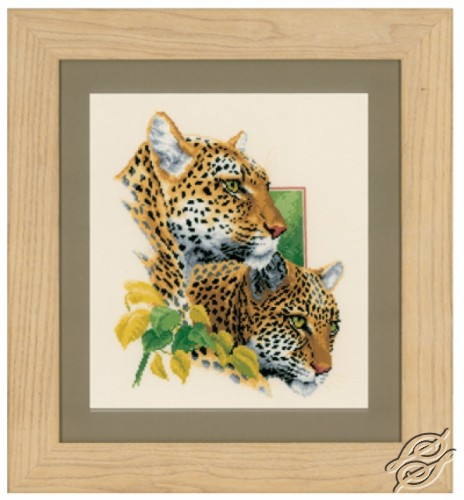 Leopard Couple by Vervaco - PN-0144437