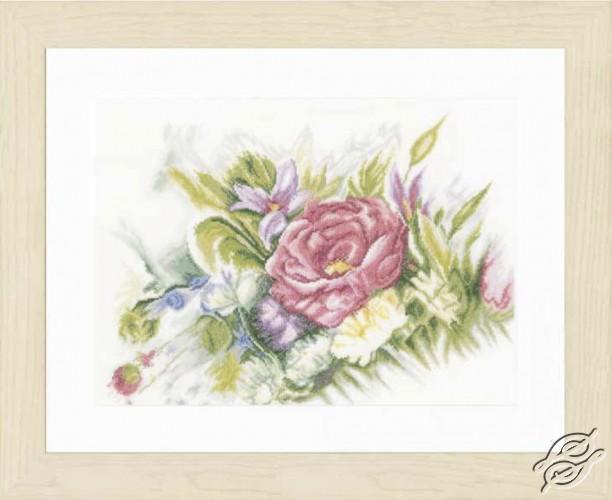 Watercolor Flowers by Lanarte - PN-0156942