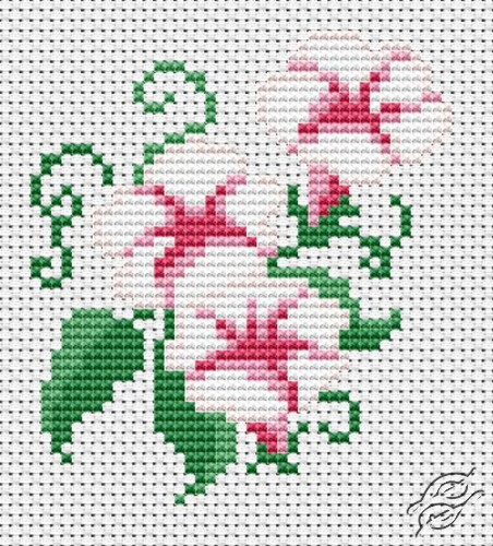 White Flowers by The Art Of Stitch - GST0003