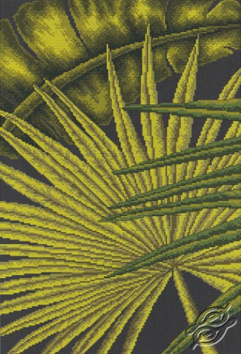 Palm Leaves II by RTO - M447