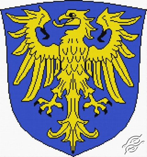 Polish Coat of Arms - Herb Upper Silesia by Aslynn Foreignet - 000680