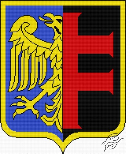 Coat of Arms of Chorzow by Aslynn Foreignet - 000944
