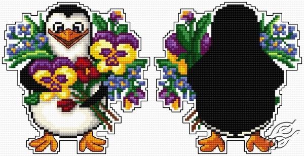 Penguin Pendant - A bouquet by Aslynn Foreignet - 001015