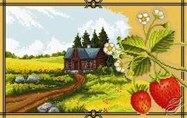 Strawberries by Aslynn Foreignet - 001024