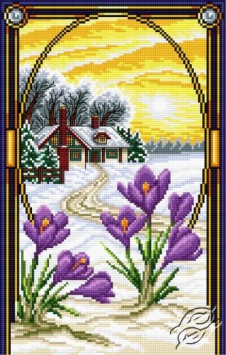 Crocus - February by Aslynn Foreignet - 001328