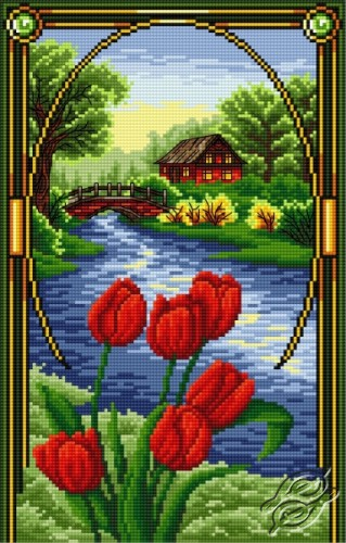 Tulips - April by Aslynn Foreignet - 001330