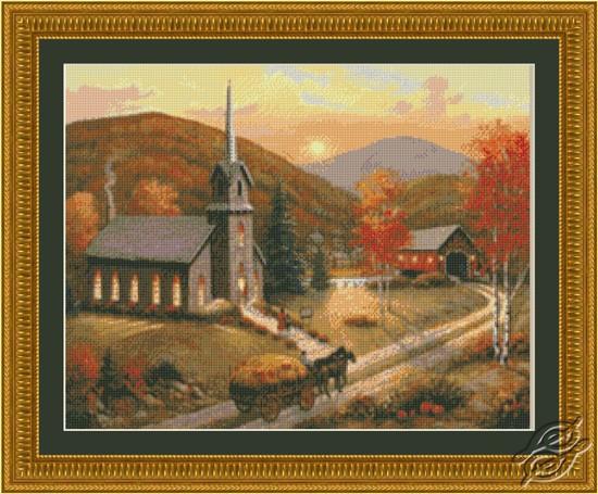 Autumn in Vermont by Kustom Krafts - 97773
